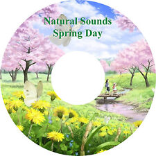 Natural Sounds Spring Day Natures Music CD Relaxation Stress Relief Sleep Aid