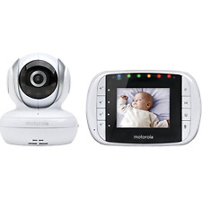 Motorola MBP33S Wireless Video Baby Monitor with 2.8-Inch Color LCD