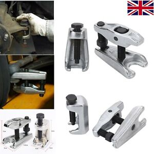 Ball Joint Puller Separator + Tie Rod End Extractor Remover Splitter Tool Set