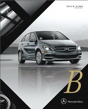 2016 Mercedes Benz B-Class B250e 24-page Sales Brochure Catalog - Electric Car