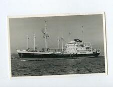 MS Van Waerwjck Photo Postcard - KJCPL Royal Interocean Lines 1887