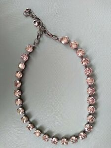 Swarovski Crystal Collet Necklace Anna Wintour Georgian Crystal Clear perfect