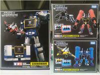 Transforms Soundwave Takara Masterpiece MP-13 MP15 MP16 With Laserbeak Figure