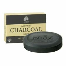 ACTIVATED CHARCOAL SOAP MADINA Cleanse Detox Anti-Aging Acne Halal Herbal