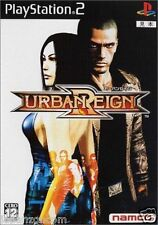 Used PS2 Namco  Urban Reign  SONY PLAYSTATION JAPAN IMPORT