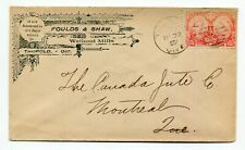 Canada ONT Ontario - Thorold 1897 - Welland Mills - Advertising Jubilee Cover -
