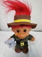 Vintage Russ Berrie My Lucky Trolls Around The World  Australia Troll Doll...