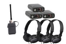Comtek Beltpack IFB System Bundle: M-216 Opt P7, (3) PR-216, (3) Sony Headphones