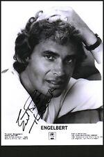 Engelbert Humperdink signed autograph UACC AFTAL online COA