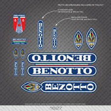 Benotto Paris-Roubaix Bicycle Stickers - Decals - Transfers - 1627