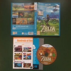 Nintendo Wii U The Legend of Zelda Breath of the Wild come nuovo versione ITA