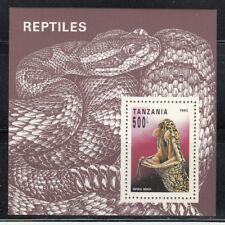 Tanzania1993 Snake MS Sc 1135 Mint Never Hinged