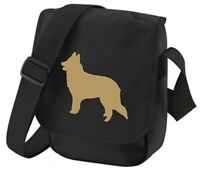 Belgian Shepherd Bag Dog Bag Silhouette Shoulder Bags Sheepdog Birthday Gift