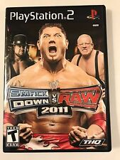 WWE Smackdown vs Raw 2011 - Playstation 2 - Replacement Case - No Game