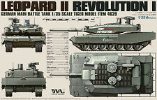 Tiger Model 1/35 4629 German MBT Leopard II Revolution-I