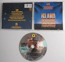 U2 ISLAND TREASURES WITH OR WITHOUT YOU CD Single USA REREEE