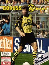 BL 92/93 Borussia Dortmund - Dynamo Dresden, 04.09.1992, Stefan Reuter