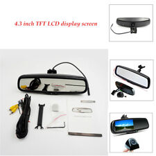 "4.3"" Metal 170 Degrees Auto Dimming Lcd Rear View Mirror Monitor w/ Rear Camera"