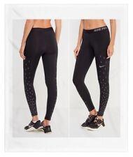 Nike Pro Warm Women's Size Small Running Training Leggings Pants 914766 010 NWT