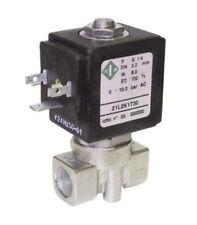 """21L2K1T30 Electrovanne à action directe 1/4"""" ode n.f. acier inox AISI 316 24v AC"""