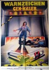 Horror WARNING SIGN original german 1 sheet movie poster 1986