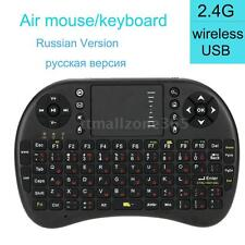 Mini Wireless Keyboard 2.4G with Touchpad Handheld Keypad & Air Fr Russian O9C1