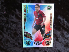 Match Attax Extra 2011/12 Trading Cards  Hattrick Held Mohammed Abdellaoue