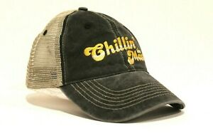 New Chillin' the Most Truckers Hat Baseball Cap Kid Rock Flag Style Chilling