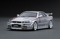#IG1607 - Ignition Model Nismo R34 Nissan GT-R R-tune - Silver - 1:43