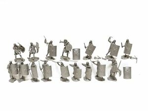 Conte Collectibles Roman Army Set 1 Plastic Toy Soldiers In Silver
