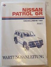 Werkstatthandbuch / Service manual Nissan Patrol Y60 GR 1989 - 1997