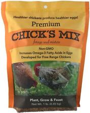 Barenbrug Premium Forage Seed Mixture Ideal for Free Range Chickens, 1 lb Chicks