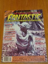 FANTASTIC FILMS OCTOBER 1980 STAR WARS CARRIE FISHER FRANK OZ US UK MAGAZINE =