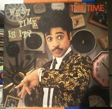 The Time – What Time Is It? Lp 1982 US Issue Warner Bros. 1-23701 VG+Funk