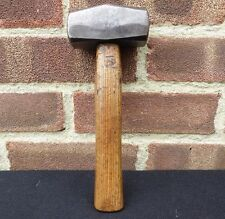 Vintage Brades  2 1/2 lb Lump Hammer Club Stone Mason Blacksmiths Forging Tool