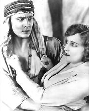 THE SHEIK (1921) Agnes Ayres Tries to Escape From Impassioned Rudolph Valentino