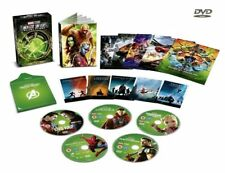 MARVEL STUDIOS COLLECTOR'S EDITION BOX SET PHASE 3 pt1 : 5 Movies R2 DVD not US