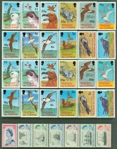 EDW1949SELL : TRISTAN Clean collection of VF MOG sgls & sets mostly NH. Cat $187
