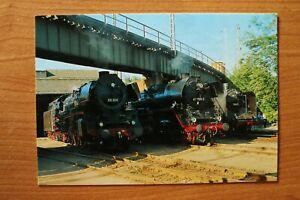 E1) Eisenbahn Zug Chemnitz 1994 Parade Dampf Lokomotive 03 204 41 1185 19 017