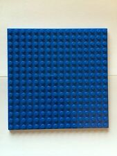 "Lego New Plate 16x16 16 x 16 Blue Base Plate 5""x5"" Part 4610305 Roof Floor"