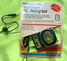 Recoton Special Purpose Ac/Dc Adapter Ad215 - 110Ac to 1.5, 3, 4.5, 6 volts Dc