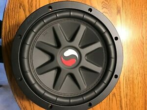 OLD SCHOOL KICKER SOLO CLASSIC DUAL 4 OHM VOICE COIL SUBWOOFER NEW CONDITION