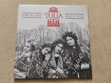 TULIA Fire Of Love (Pali się) LIMITED SIGNED LP VINYL NEW SEALED EUROVISION 2019