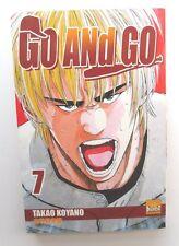 MANGA GO AND GO n° 7 TAKAO KOYANO EDITION FRANCAISE PUNCH COMICS