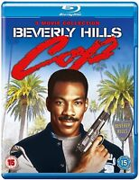 BEVERLY HILLS COP Trilogy [Blu-ray 3-Movie Set] Complete Film Collection 1 2 3