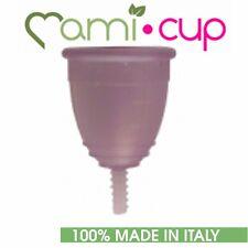 MAMICUP COPPETTA MESTRUALE LILLA 100% SILICONE MEDICALE MADE IN ITALY TAGLIA L