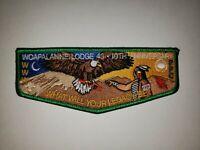 Boy Scout OA 43 Woapalanne 10th Anniversary Lodge Flap
