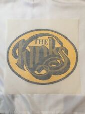 The Kinks 1970's Vintage Iron On Transfer Tshirt