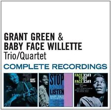 Trio/quartet Complete Recordings Grant Green & Baby Face Willette Audio CD