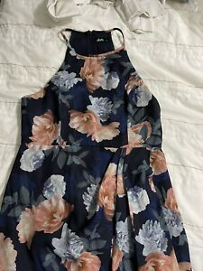 DOTTI Size 12 Women Floral  Long Dress Stunning
